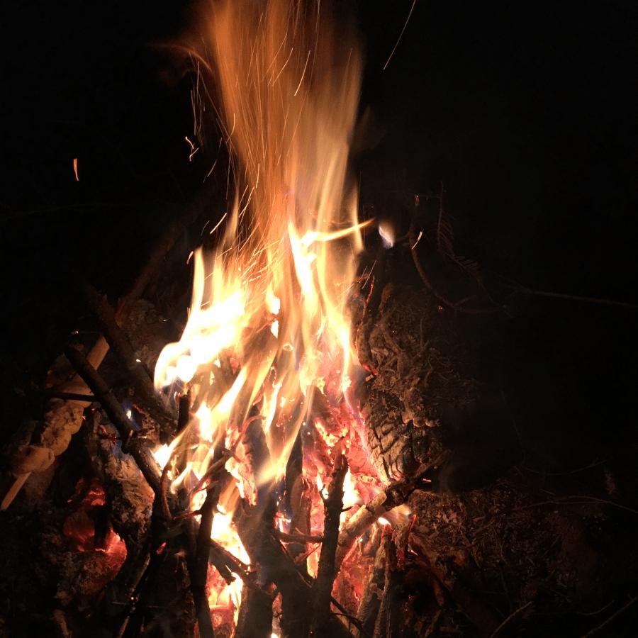 Feuer-machen-Wildnis