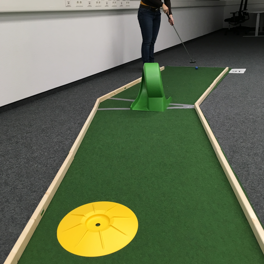 Indoorgolf Rahmenprogramm