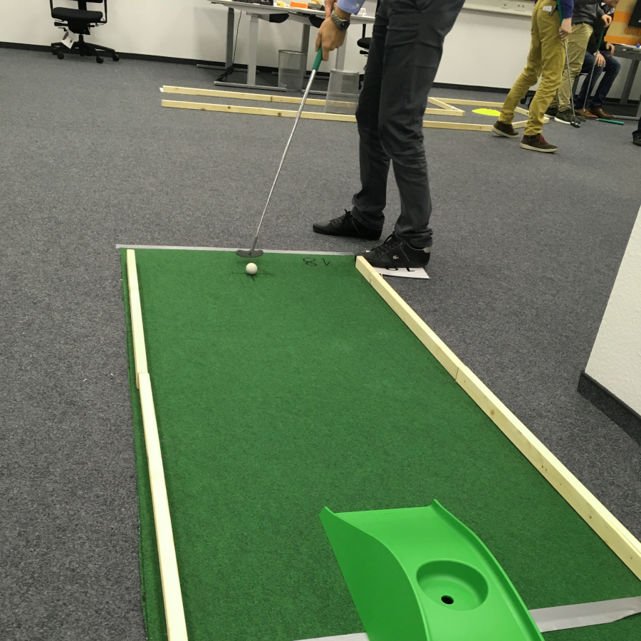 Teambuilding Indoorgolf